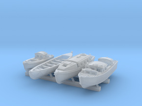 1/350 Scale HMS Kelly Boat Set in Smoothest Fine Detail Plastic