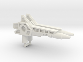 Fastlane Guns, 5mm in White Natural Versatile Plastic: Medium