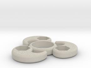 Single Bearing Hand Spinner in Natural Sandstone