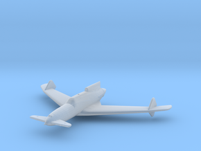Curtiss-Wright XP-55 'Ascender' in Smooth Fine Detail Plastic: 1:285 - 6mm