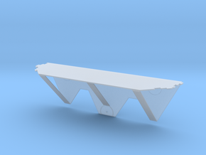 Thumbtack Dry Wall Shelf in Smooth Fine Detail Plastic