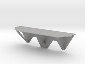 Thumbtack Dry Wall Shelf in Aluminum