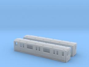 Berlin Baureihe A3L N [2x body] in Smooth Fine Detail Plastic