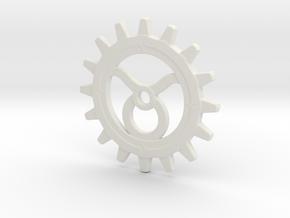 Taurus Gear in White Natural Versatile Plastic