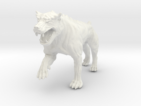 Dungeon Dog: Warrior in White Natural Versatile Plastic