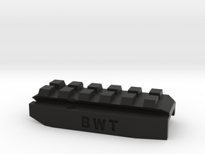 Mk23 Rail Addaptor in Black Natural Versatile Plastic