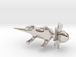 Petal Monster Lizard  in Platinum: Large