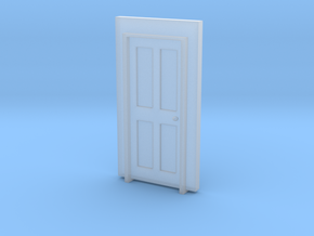 Standard Building  Door #1 in Smooth Fine Detail Plastic