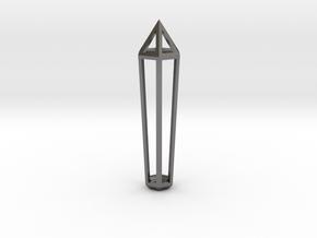 Crystal Frame in Polished Nickel Steel