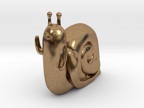Adventure Time Lich Snail in Natural Brass: Small