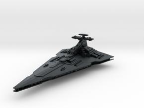 Praetor Command Battlecruiser (armada) in Black Hi-Def Acrylate