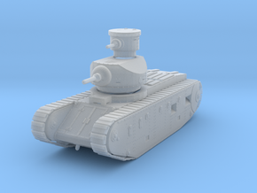 PV173B U.S. Ordnance M1921 Medium Tank (1/100) in Smooth Fine Detail Plastic