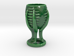 Alien Cup in Gloss Oribe Green Porcelain