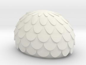 Mekki-Maru Pommel in White Natural Versatile Plastic