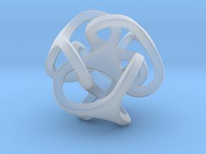 Interlocking Ball based on Tetrahedron in Smooth Fine Detail Plastic