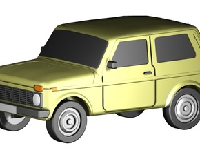 Lada Niva (Z,1:220) in Frosted Ultra Detail
