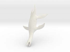 Rhomaleosaurus thorntoni 1/72 in White Natural Versatile Plastic
