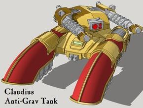 6mm Claudius Anti-Grav Tanks (4pcs) in White Acrylic