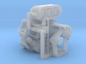 Engine in Smoothest Fine Detail Plastic