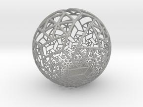 Grid Bulb II in Aluminum