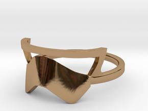 Star wars Stormtrooper Ring v.1.0 in Polished Brass: 11 / 64