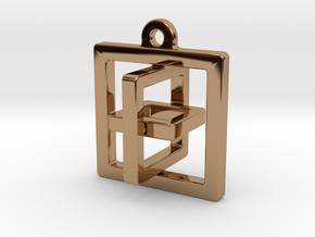 """Reliability"" in Polished Brass (Interlocking Parts)"