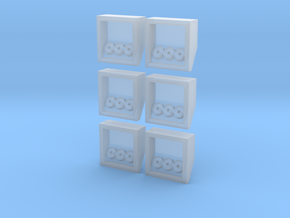 "Large Airboxes ""builders bundle"" in Frosted Ultra Detail"