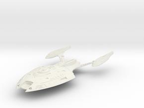 Pulsar Class  Cruiser in White Natural Versatile Plastic