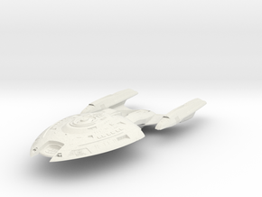 Ranger Class  BattleDestroyer in White Natural Versatile Plastic