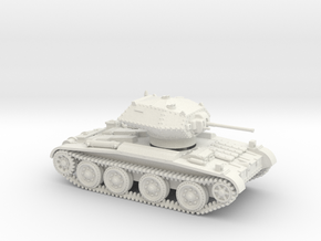 Covenanter (1:87 HO scale) in White Strong & Flexible