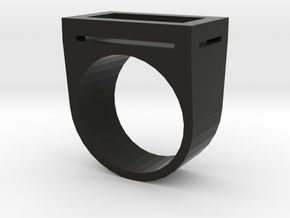 Yin Ring in Black Strong & Flexible: 4.5 / 47.75