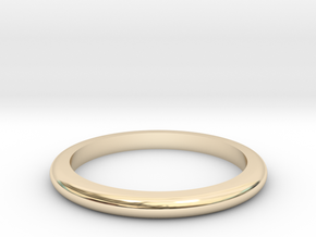 Medium Band  in 14K Yellow Gold: 6 / 51.5