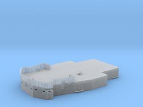 1/96 DKM Bismarck Lower Mast Deck  in Smooth Fine Detail Plastic