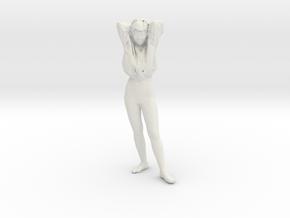 Printle C Femme 121 - 1/20 - wob in White Natural Versatile Plastic