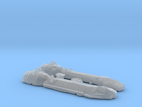 1/2700 Lancer-class Frigate in Frosted Ultra Detail