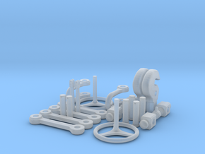 1:16 scale Ssyms 80 ton detail set 01 in Smooth Fine Detail Plastic