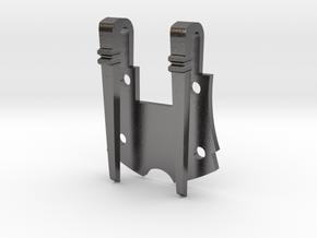 Ranger Swordbelt Buckle Baseplate in Polished Nickel Steel