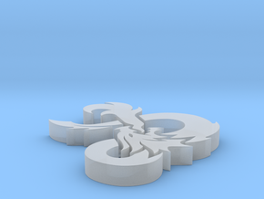 D&D Ampersand in Smooth Fine Detail Plastic