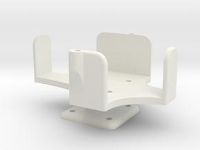 Light bridge Air System Mount Part 1 in White Natural Versatile Plastic
