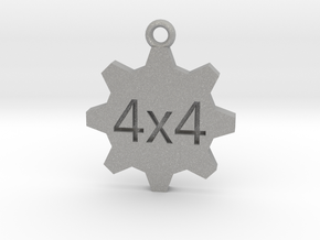 4x4 Keychain - for the offroad enthusiast !! in Aluminum