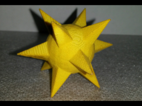 Discostar in Yellow Processed Versatile Plastic