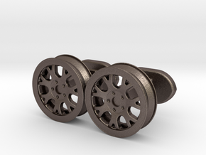 rims cufflinks in Stainless Steel