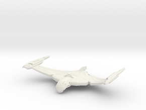 V10 WarBird Class Cruiser in White Natural Versatile Plastic
