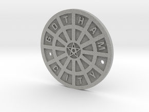 Gotham City Manhole – Sixth Scale  in Metallic Plastic