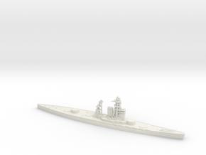 IJN Tosa 1/700 (No Turrets) in White Natural Versatile Plastic