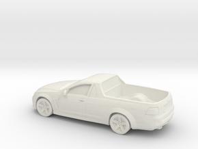 1/87 2015 Holden Ute in White Strong & Flexible