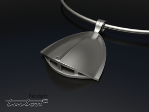 TRITON Pendant in Rhodium Plated Brass