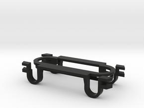 Bouzouki - (eureka)Sound Hole Pickup Mount in Black Natural Versatile Plastic