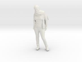 Printle C Femme 236 - 1/64 - wob in White Natural Versatile Plastic