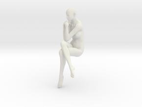 Printle V Femme 504 - 1/24 - wob in White Natural Versatile Plastic